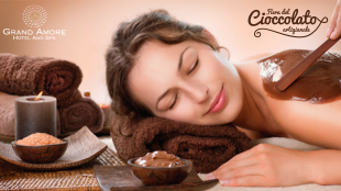 Grand Amore spa chocolates treatment