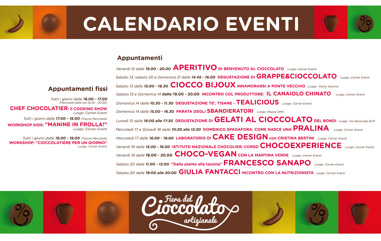 Calendario Eventi.Calendario Eventi Fiera Del Cioccolato Artigianale