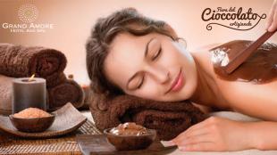 Grand Amore spa chocolates treatment